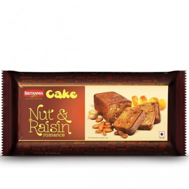 Britannia Cake - Nut & Raisin