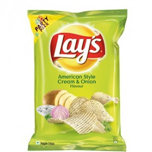 Lays - American Style Cream & Onion Flavour Potato Chips