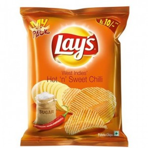 Lays - Hot n Sweet Chilli Potato Chips