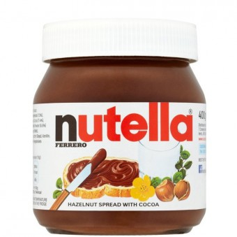 Nutella - Hazelnut Spread with Cocoa 160 gm Bottle