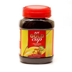 Avt - Gold Cup Tea Jar