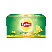 Lipton - Green Tea Bags (Lemon Zest)