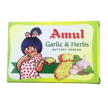 Amul - Garlic & Herb Buttery Spread