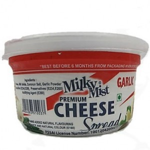 Milky Mist - Premium Cheese Spread Garlic