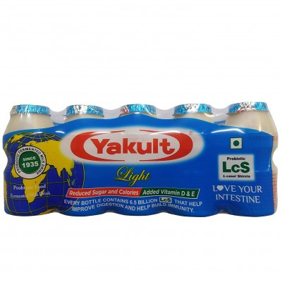 Yakult - Probiotic Fermented Milk Drink - Light