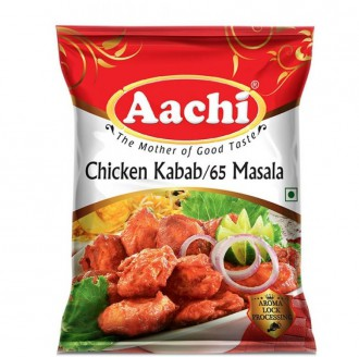 Aachi - Chicken Kabab - Chicken 65 Masala
