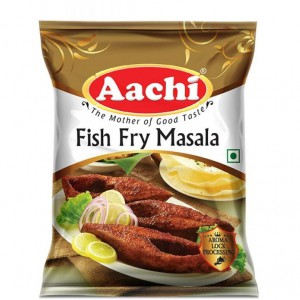Aachi - Fish Fry Masala 50 gm Pouch