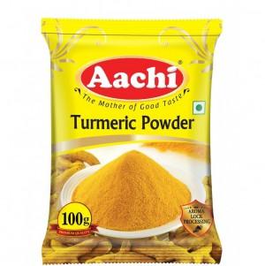 Aachi - Turmeric Powder 100 gm Pouch