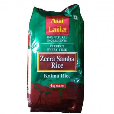 Alif Laila - Zeera Samba Rice 1 kg Pouch