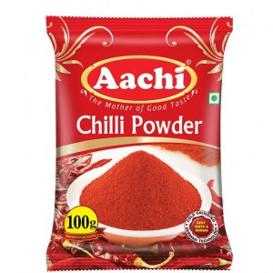 Aachi - Chilli Powder 50 gm Pouch