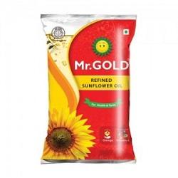 Mr.Gold - Refined Sunflower Oil  1 ltr Pouch