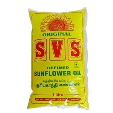 SVS - Refined Sunflower oil 1 Ltr Pouch
