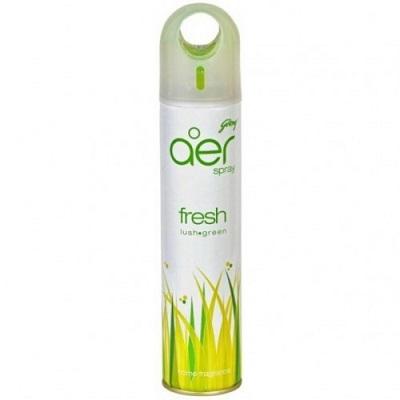 Godrej - aer Home Air Freshener Spray - Fresh Lush Green