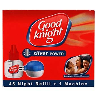Good Knight - Silver Power 45 Night Refill + Machine 45 Nights