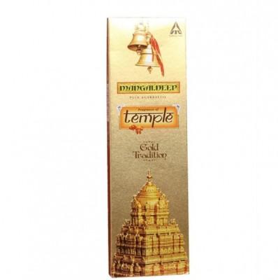 Mangaldeep - Fragrance of Temple Agarbatti (Gold Tradition)