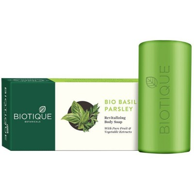 Biotique - Bio Basil And Parsley Soap