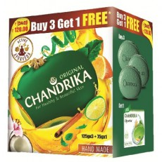 Chandrika - Ayurvedic Soap (Buy 3 Get 1 Free)