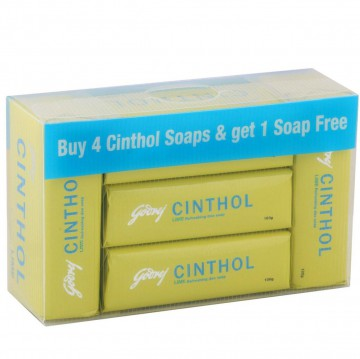 Cinthol - Lime Soap (Buy 4 Get 1 Free)