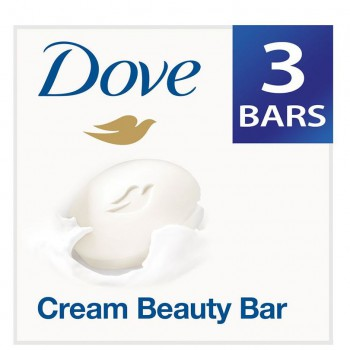 Dove - Cream Beauty Bathing Bar (Pack of 3)