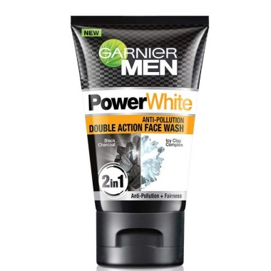 Garnier - Men Anti-Pollution Double Action Face Wash