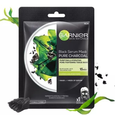 Garnier - Charcoal Serum Sheet Mask