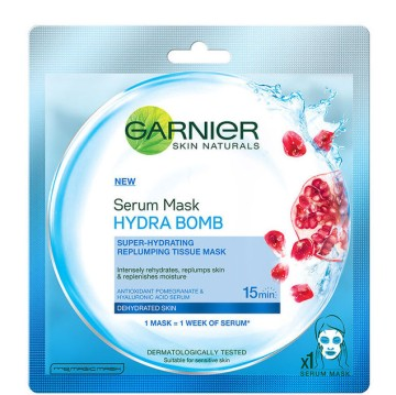Garnier - Hydra Bomb Pomegranate Serum Sheet Mask
