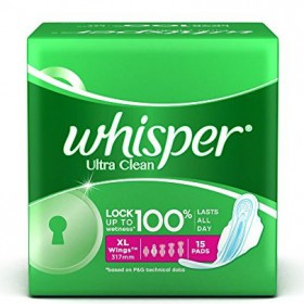 Whisper - Ultra Clean XL Wings 44 Pads